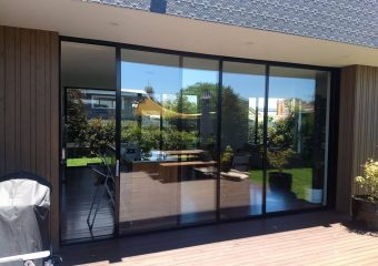 Repair to triple sliding door at Coburg, Victoria